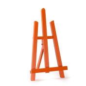 Quantum Art - Orange Colour Easel 41cm Height For Display Picture, Art, Craft, Wedding