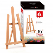 BEECH WOOD 390MM ARTIST TABLE TOP DISPLAY EASEL - BEST EUROPEAN QUALITY by Quantum Art