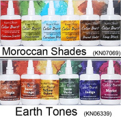 Ken Oliver Colour Burst TWO 6-packs MOROCCAN SHADES & EARTH TONES
