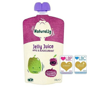 Naturelly Jelly Juice Apple & Blackcurrant Pouch 100g