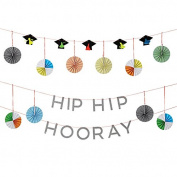 Meri Meri Hip Hip Hooray Graduation Garland