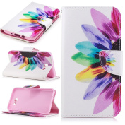 Samsung Galaxy J7 2017 Case, Everun Wallet Folio PU Leather Flip Case Cover with Card Holder Stand for Samsung Galaxy J7 2017