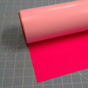 Siser Easyweed Fluorescent Rasberry 38cm x 0.9m Iron on Heat Transfer Vinyl Roll by Coaches World