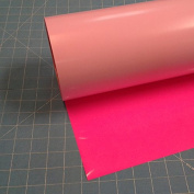 Siser Easyweed Fluorescent Pink 38cm x 0.9m Iron on Heat Transfer Vinyl Roll by Coaches World