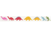 Dinosaur Washi Tape (1 Roll - 1.4cm wide x 10.95 yards long) - Dinosaurs Birthday Party Supplies, Coloured Paper Tape, Scrapbook Tape, Adhesive Tape Products