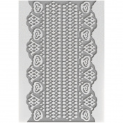 Couture Creations Embossing Folder 13cm x 18cm -Lace - Magnolia Lane