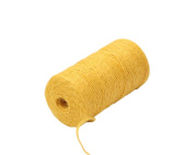 Yalulu Natural Jute Twine Arts Crafts Gift Twine /Hemp Rope Twine Industrial Packing Materials Durable String for Gardening Applications