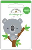 Doodlebug Designs Kc Koala Doodle-Pops Dimensional Stickers
