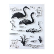 Silicone Decorative Clear Stamps for Card Making Planners DIY Scrapbooking