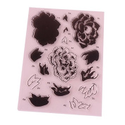 1PCS Flower Style Clear Stamp DIY Scrapbooking/Card Making/ Decoration Supplies K0046