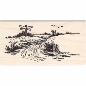 Crossroads Rubber Stamp Scenic Stamping