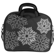 Deluxe Printed 40cm Laptop Carry Case With Zip Closure And Interior Pockets