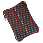 25cm Laptop Or Tablet Neoprene Printed Design Slip-In Carry Case With Zip Closure