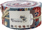 Gerri Robinson Faded Memories Rolie Polie 40 6.4cm Strips Jelly Roll Penny Rose Fabrics