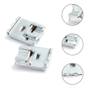 Sundlight Two piece CY-9908 Multi Function Double Rolled Hem Presser Foot for Sewing Machine of Household