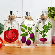 Farm to Table Eggplant Themed 500ml Hand Soap
