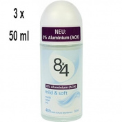 Women's '8x4 Deo Roll-On mild & soft Aluminium Free – 50 ml