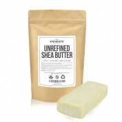 Unrefined Shea Butter - African, Raw, Pure - Use Alone Or In DIY Body Butters, Lotions, Soap, Eczema & Stretch Marks Products, Lotion Bars, Lip Balms And More! - 240ml