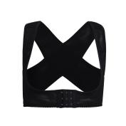 YiZYiF Adjustable Bra Shaper Chest Support Brace Posture Corrector Shoulder Back Support Body Sculpting Strap Black XX-Large