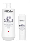 Goldwell Dualsenses Just Smooth Taming Shampoo 1000ml and Conditoner 200ml