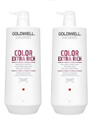 Goldwell Dualsenses Colour Extra Rich Shampoo 1000ml and Conditoner 1000ml