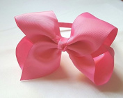 Alice band with Bow 15cm Girls Wrapped Baby Hair Band HeadBand