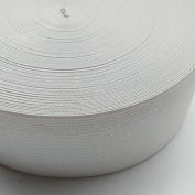 "Chenkou Craft Upick 10yards Wide 2 3/8"" (60mm) Black or White Braided Elastic Ribbon Elastics Bands"