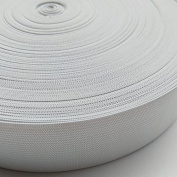 """Chenkou Craft Upick 10yards 1 1/2"""" (40mm) Black or White Braided Elastic Ribbon Elastics Bands"""