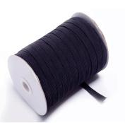 Braided Elastic 1cm Wide 144 Yards-Black
