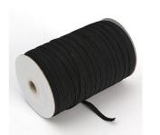Braided Elastic 1.3cm Wide 144 Yards Black