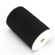 Braided Elastic 0.6cm Wide 144 Yards - Black