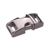 Flyshop 1cm Zinc Alloy Side Release Buckles For Paracord Bracelets Grey