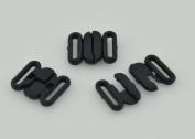 Plastic Bikini Bra Clips Hooks Swimwear Clicker Bikini Accessory Tape Closure Hook & Clasp Fasteners 10mm Pack of 200Sets
