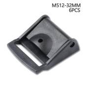 Multi-size Cam Buckle Webbing Buckle Plastic Adjustable Buckles Toggle Clip