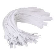 RDEXP White 41cm Nylon Invisible Zipper Skirt Dress Pillow Sewing Craft Home Textiles Set of 50