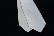 10 PACK PRE-CUT 9.5cm wide - 2 LAYER - cotton + wool necktie interfacing / interlining, AC Ter Kuile, finest available, Made Netherlands