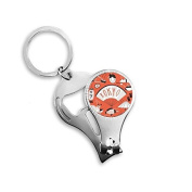 Sushi Geisha Japan Tokyo Cultural Japanese Style Metal Key Chain Ring Multi-function Nail Clippers Bottle Opener Car Keychain Best Charm Gift