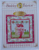 Pattern~Little Garden House in Spring~Wall Hanging Pattern by Shabby Fabrics~ 100cm x 100cm