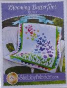Pattern~Blooming Butterflies,Quilt Pattern by Shabby Fabrics~ 100cm x 130cm