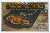 Old Crow and Company Pumpkin Halloween Autumn Wool Pattern Primitive Gatherings