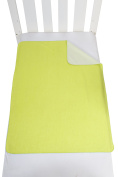 Hippychick Tencel Flat Double Sheet, 150 x 200 cm - Lime