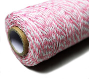 Bakers Twine 100 Yard Cotton String 2 Ply Craft Twine for Packing Gardening and Wrapping Gifts