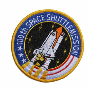 HFDA Tactical Flag Patch Combination USA NASA Patch Embroidered Morale Patches