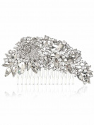 Aukmla Hair Combs for Weddings for Bride and Bridesmaid on Evening Party and Casual