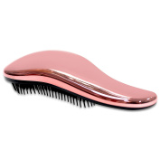 HairBrush, a Detangling Hair Brush by Majestik+, Best Professional Salon Quality, Wet & Dry Brush For Tangle-Free, No Pain - Great For Thick, Wavy, Curly, or thin hair on women, girls & kids, a must have Detangler brush