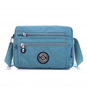 MeCooler Girls Shoulder Bag Cross Body Bag Crossbody Messenger Bag for Women Satchel Casual Sport Travel Side Pack Waterproof Nylon