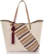 Ladies Large Canvas Summer Beach Tote Shopping Maternity, Overnight, Travel Gym Bags in Various Colours