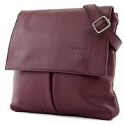 Italian bag shoulder bag messenger satchel women's bag real leather T63