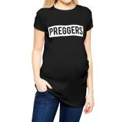 Preggers T-shirt by Nappy Head