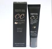 Yedamyunbit [Yedam Yun Bit] Sunshine Snail Combo Cc Cream (SPF40 / Pa+++)/Korea Cosmetics